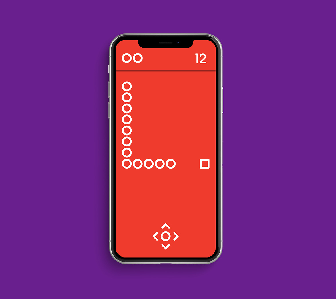 Mobile game design for new startup brand Caboodle, designed by White Bear Studio