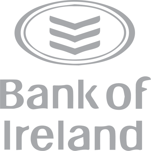 Bank of Ireland Logo - Client of White Bear Studio
