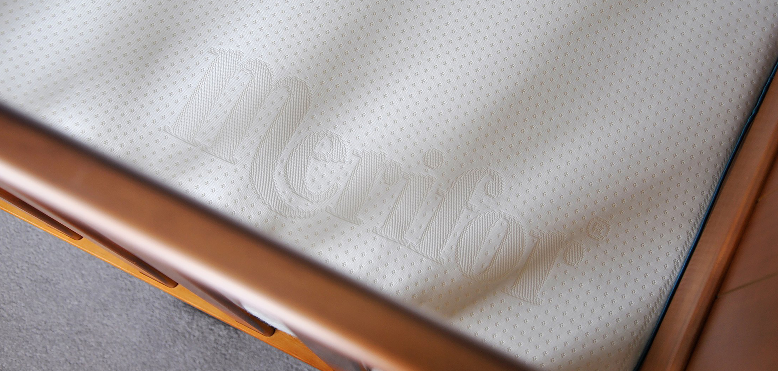 Mattress close up from White Bear Studios video for mattress startup Merifor